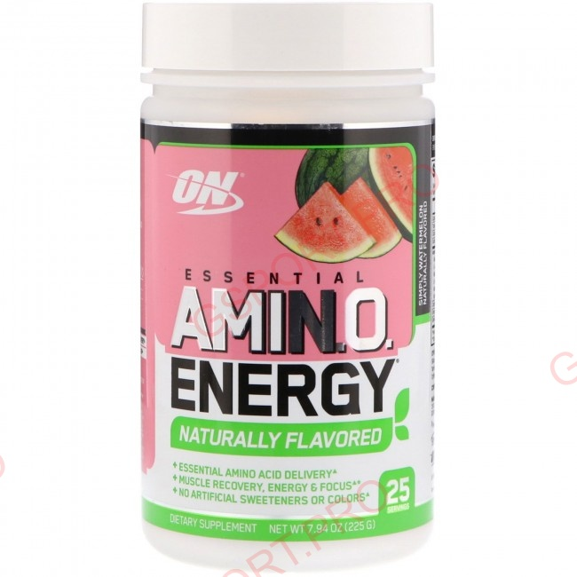 Optimum Nutrition Amino Energy Naturally Flavored (25serv)